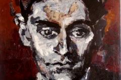 Nenahlédneš za území mých očí (Franc Kafka) 50 x 40 - NEDOSTUPNÉ