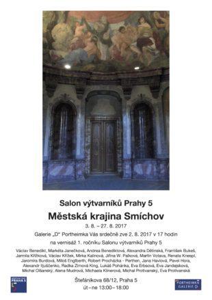Salon výtvarníků Prahy 5 (Praha, 02. srpna 2017)